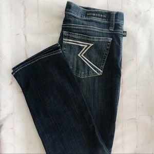 [Rock & Republic] Kendall dark wash crop Jean 14